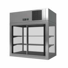 MODUS P 800 × 500 × 850 chladící vitrína, agregát nahoře
