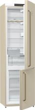 Gorenje NRK 621 CLI  Kombinovaná chladnička s mrazničkou dole, Classico, 254/85l, A+, slonová kost