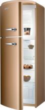 Gorenje RF 60309 OCOL  Kombinovaná chladnička s mrazničkou nahoře, Retro, 229/65l, A++, královská káva,L