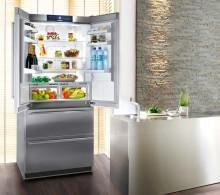 LIEBHERR CBNes 6256  Kombinovaná chladnička s mrazničkou dole, 357/68/114l, A++, nerez