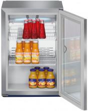 LIEBHERR FKv 503 Volně stojící monoklimatická chladnička na nápoje,42 l,nerez