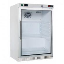 REDFOX HF-200/G  Mraznice bílá - prosklené dveře 120 L