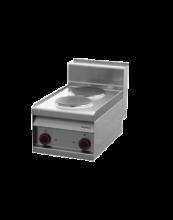 REDFOX PC-4ET  Sporák stolní 2 plotýnky,380V