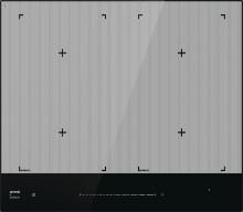Gorenje IS646ST  Indukční varná deska, černá, dotykové ovládání SliderTouch, hliníkové bočné lišty, 4