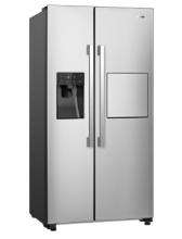 Gorenje NRS9181VXB Americká chladnička s mrazničkou, 365/167, A+, nerez