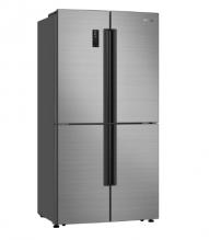 Gorenje NRM9181UX Americká chladnička s mrazničkou, 359/180, A+, nerez