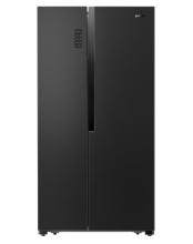 Gorenje NRS9183MB Americká chladnička s mrazničkou, 339/177, A+++, černá