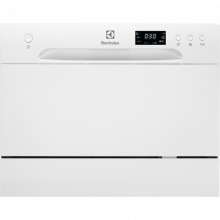 Electrolux ESF2400OW A+, Kompaktní myčka nádobí 55 cm Sušení zbytkovým teplem