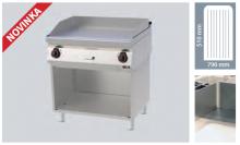 REDFOX FTR 70/80 E  -Elektrická grilovací deska rýhovaná ocel.
