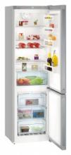 LIEBHERR CNPel 4813 Volně stojící kombinovaná chladnička s mrazákem dole,A+++, 243/95 l,NoFrost,nerez