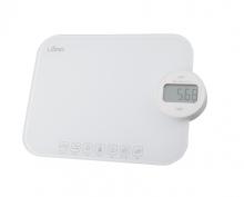 LORD SK1 Kuchyňská váha,i-POWER,LCD displej,bílá