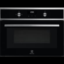 Electrolux EVK6E40X Vestavná trouba kompaktní Solo Microwave & Grill, Nerez