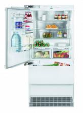 LIEBHERR ECBN 6156 617 Vestavná kombinovaná lednička s mrazákem dole, 357/68/114 l, A+
