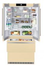 LIEBHERR CBNBE 6256 Volně stojící kombinovaná lednička s mrazákem dole, A++, 357/68/114l, béžová
