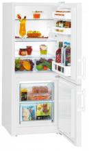 LIEBHERR CU 231 Kombinovaná chladnička s mrazničkou dole, 157/54 l, F, Bílá