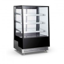 NORDline ARC 400L  Chladicí vitrína cukrářská v černém provedení