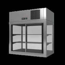 MODUS P 1000 × 500 × 850 chladící vitrína, agregát nahoře