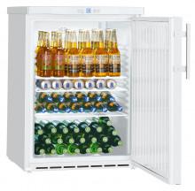 LIEBHERR FKUv 1610 Volně stojící monoklimatická chladnička na nápoje,130 l,bílá