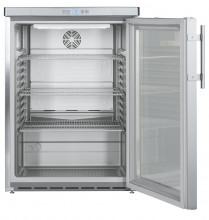 LIEBHERR FKUv 1663 Volně stojící monoklimatická chladnička na nápoje,130 l,nerez