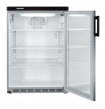 LIEBHERR FKvesf 1803 Volně stojící monoklimatická chladnička na nápoje,157 l,stříbrná