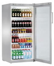 LIEBHERR FKvsl 5413 Volně stojící monoklimatická chladnička na nápoje,536 l,stříbrná