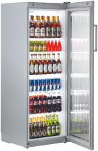 LIEBHERR FKvsl 3613 Volně stojící monoklimatická chladnička na nápoje,320 l,stříbrná