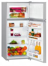 LIEBHERR CTPsl 2121  Kombinovaná chladnička s mrazničkou nahoře, 151/44 l, A++, Stříbrná