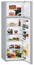 LIEBHERR CTPsl 2921  Kombinovaná chladnička s mrazničkou nahoře, 216/52l, A++, Stříbrná