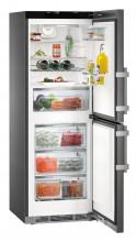 LIEBHERR CNPbs 3758  Kombinovaná chladnička s mrazničkou dole, 170/101l, A+++, černá