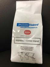 Káva Jihočeskéelektro zrnková 500gr espresso cofee blend