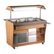 NORDline RTS 1210 L Chladicí salátový bar, samoobslužný.