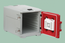 REDFOX DVT 230  Dveře vyhřívané pro Front 230V