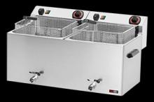 REDFOX FE-1010T Fritéza elektrická 11+11l třífázová