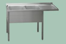 REDFOX MSDOP/M-150x70x90/40x50  Stůl dvoudřez pr