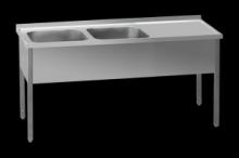 REDFOX MSDOP-140x60x90 40x50 Stůl dvoudřez prav