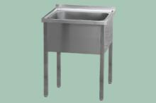 REDFOX MSJ-120x60x90 (95,5x50)Stůl mycí jednodř.