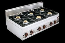 REDFOX PC-12G  Sporák plynový stolní 6 hořáků