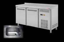 REDFOX RT-2D+S chladící stůl 2x dveře+dřez