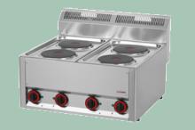 REDFOX SP-60ELS  Sporák elektrický 400V 4x2kW