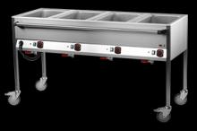 REDFOX VLPD-4120 Vodní lázeň pojízdná 4xGN1/1, ovl.delší str.