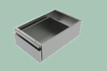 REDFOX ZJ  Zásuvka jednoduchá závěsná do prac. stolů PS