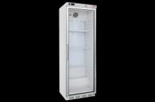 REDFOX HF-400G  Mraznice bílá, prosklené dveře 340 L
