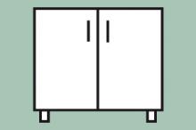 REDFOX MP-8 Podestavba uzavřená s dveřmi
