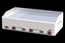 REDFOX FTHRC-90 E  Grilovací deska kombinovaná chrom.