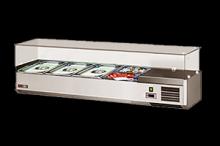 REDFOX VCH 3120 Vitrínka chladící 120cm  4 x GN 1/3