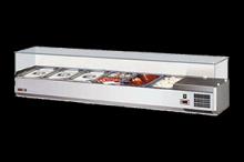 REDFOX VCH 3150 Vitrínka chladící 150cm 6 x GN 1/3
