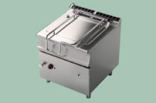 RM Gastro BRM80-98G  Sklopná pánev automat plyn 80l