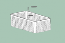 RM Gastro Koš F pro CP-66, CP-76 49x29x20v