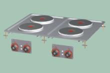 RM GASTRO PCD-68ET  Sporák stolní elektrický