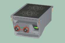 RM GASTRO PCID-64ET  Sporák stolní indukční